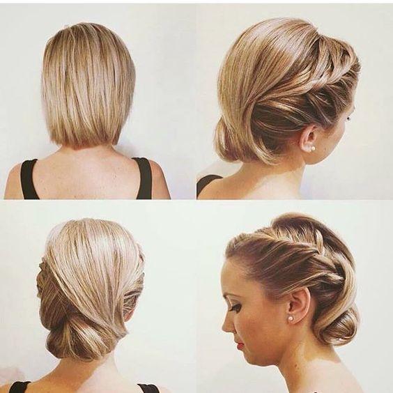 Peinados para cabello corto