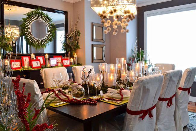 Tendencia en centros de mesa navideños
