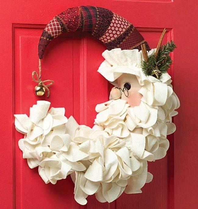Tendencia en decoraci n navide a 2017 2018 curso de organizacion del hogar y decoracion de - Arreglo de puertas de madera ...