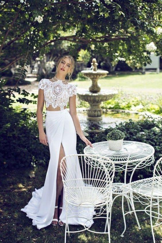 Propuestas de Vestidos para Novia ideales para Casarte por el Civil