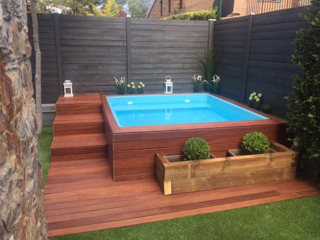 Albercas y saunas para casas peque as curso de for Disenos de albercas para casas pequenas