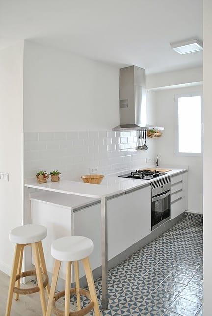 Antes y después de una remodelación low cost de la cocina