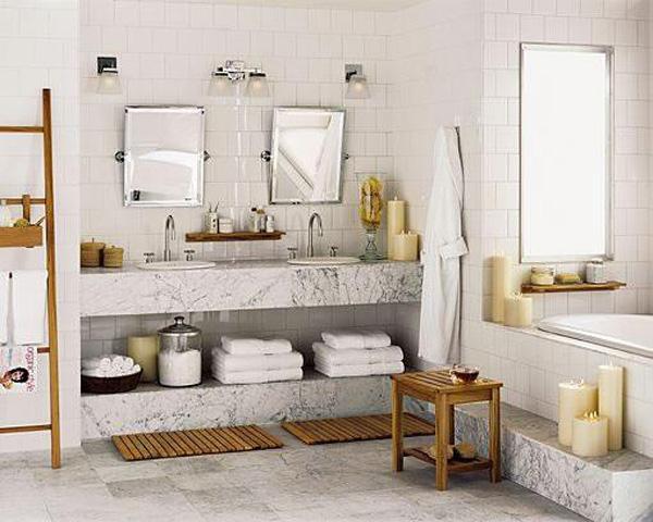 Baños Spa | Banos Pequenos Decoracion Tipo Spa 19 Curso De Organizacion