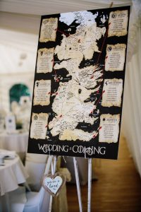 Boda inspirada en Game of Thrones