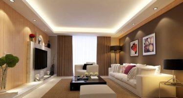 Cielo raso en salas de estar