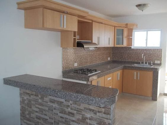 Cocinas integrales decoradas con granito