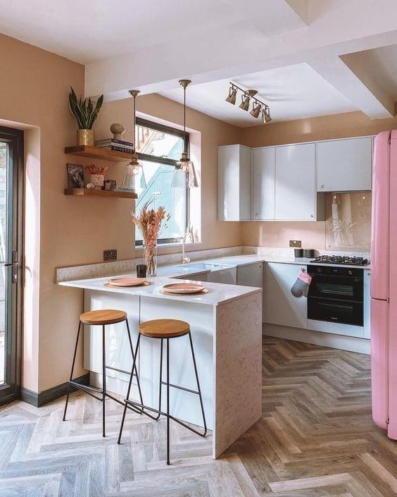Ideas para crear un office en cocinas pequeñas