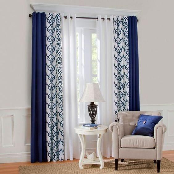 Combinación de cortinas