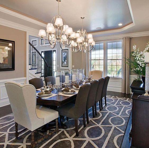 Best 20 Dining Room Walls Ideas On Pinterest: Comedores-elegantes-que-te-inspiraran-decorar-el-tuyo (20
