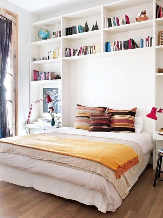 ¿Cómo aprovechar el espacio en tu dormitorio?