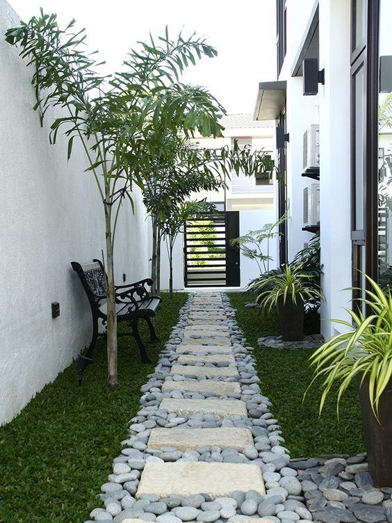 Como decorar pasillos exteriores 17 curso de for Decoracion patios exteriores fotos