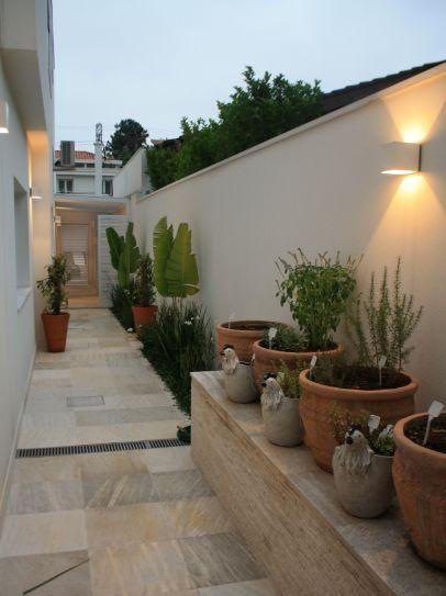 Como decorar pasillos exteriores