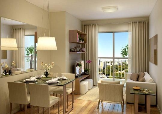 Como decorar sala y comedor en espacios abiertos peque os for Decoracion de interiores espacios pequenos salas