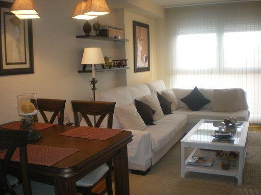 Como decorar sala y comedor en espacios abiertos peque os curso de organizacion del hogar y - Decoracion pisos pequenos ikea ...