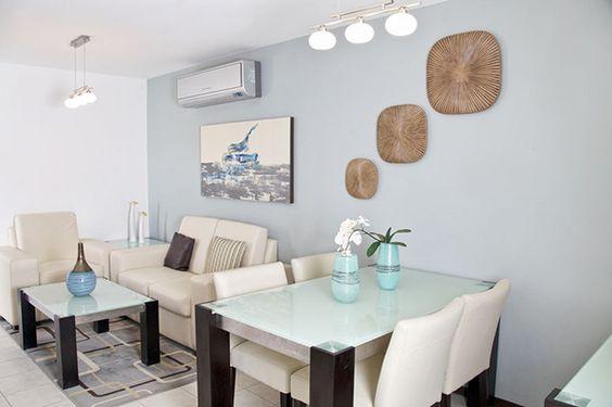 Como decorar sala y comedor en espacios abiertos peque os for Como organizar espacios pequenos