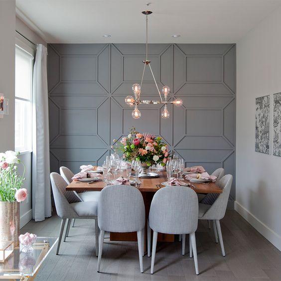 Como decorar un comedor con un toque sofisticado y for Como decorar un comedor minimalista