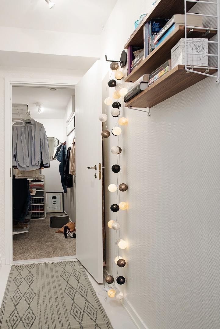 Cómo iluminar un walking closet con poca luz