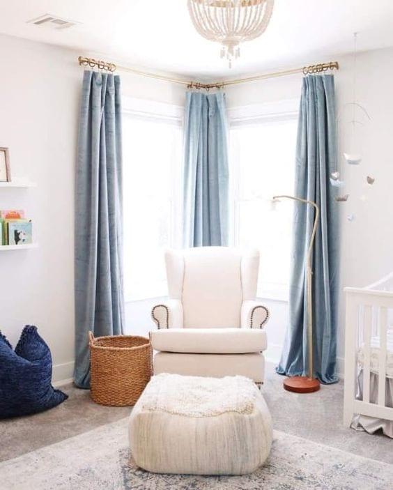 Las cortinas deben medir el doble de ancho que tu ventana