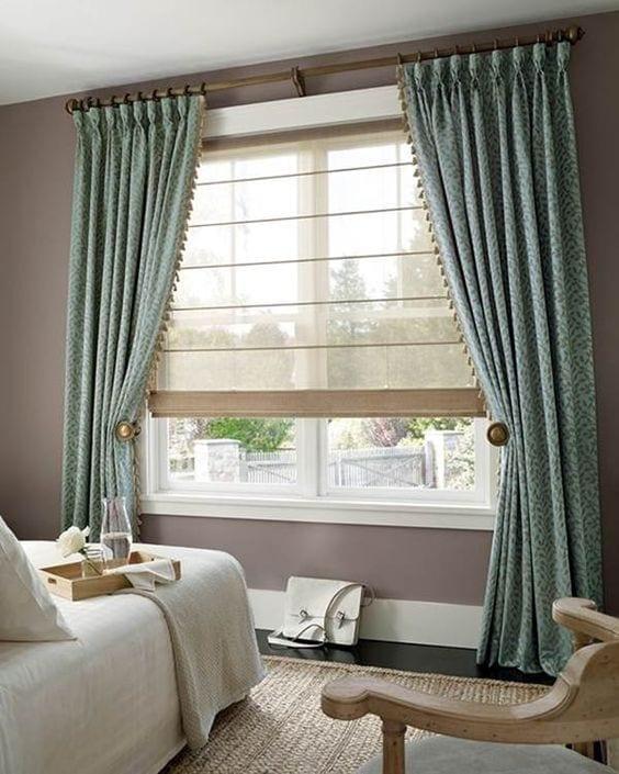 Diseño del rieles para las cortinas