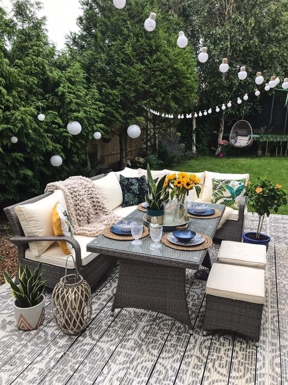 Cómo montar una terraza o un jardín perfectos