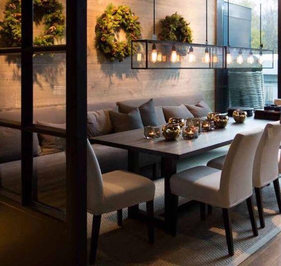De 50 dise os de comedores para decoraci n de interiores for Disenos de comedores