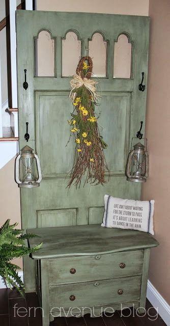 Decoraci n con puertas recicladas for Puertas recicladas