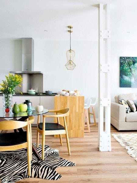 Delimitar espacios en tu hogar