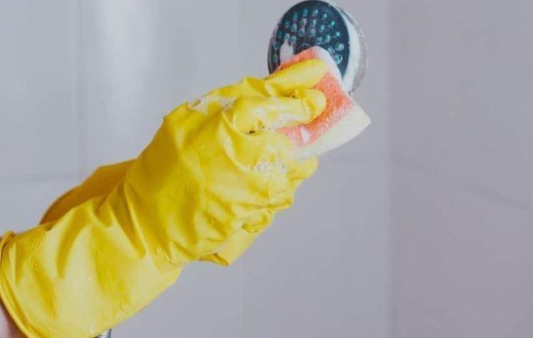 No limpiar el área de la regadera