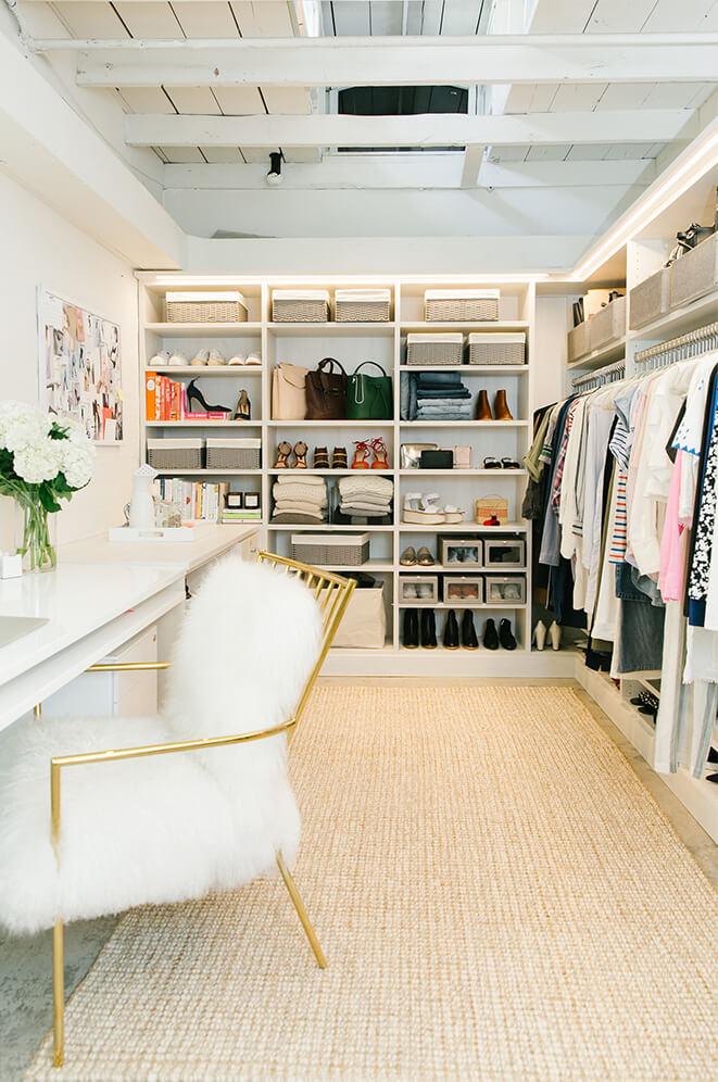 Diseno de closet y armarios practicos y modernos 26 Diseno de interiores closets modernos