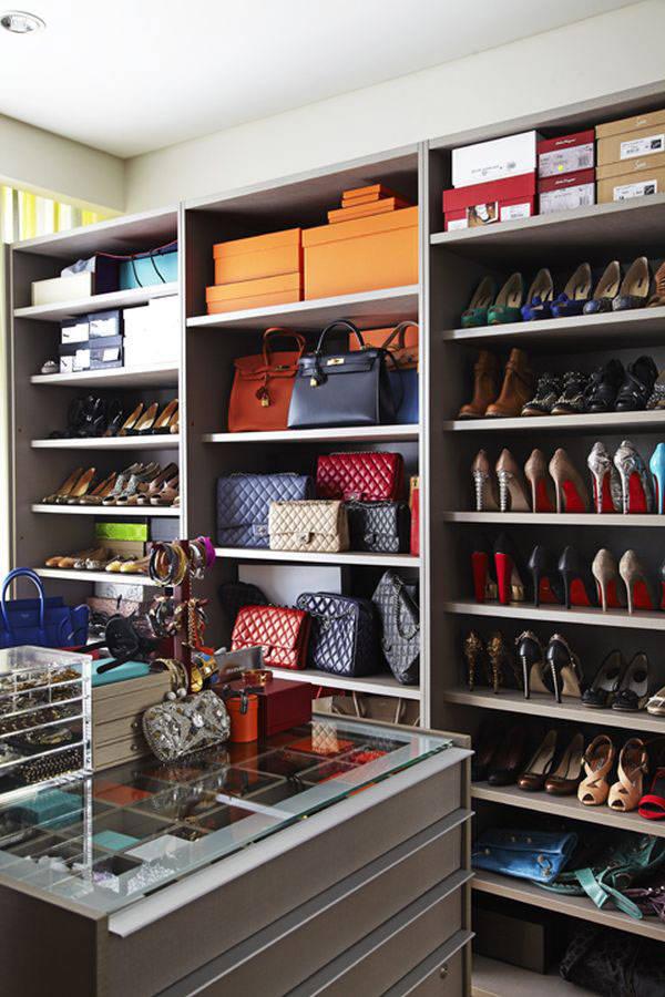 Diseno de closet y armarios practicos y modernos 38 Diseno de interiores closets modernos
