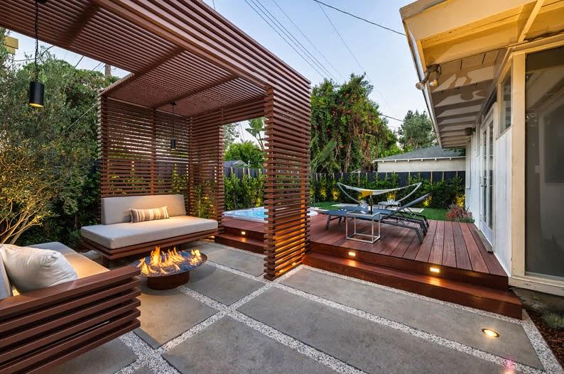 Dise o de terrazas y exteriores para casas peque as Disenos de casas contemporaneas pequenas