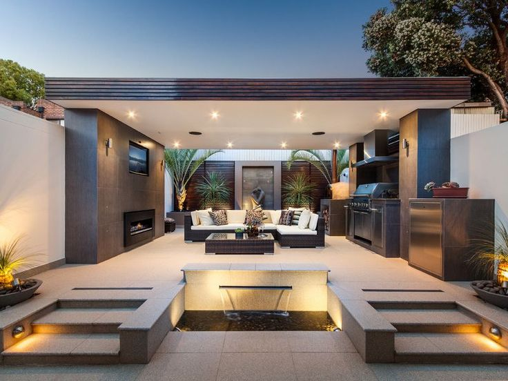 Dise o de terrazas y exteriores para casas peque as - Diseno casas pequenas ...