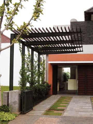 Dise o de terrazas y exteriores para casas peque as - Diseno exterior de casas ...