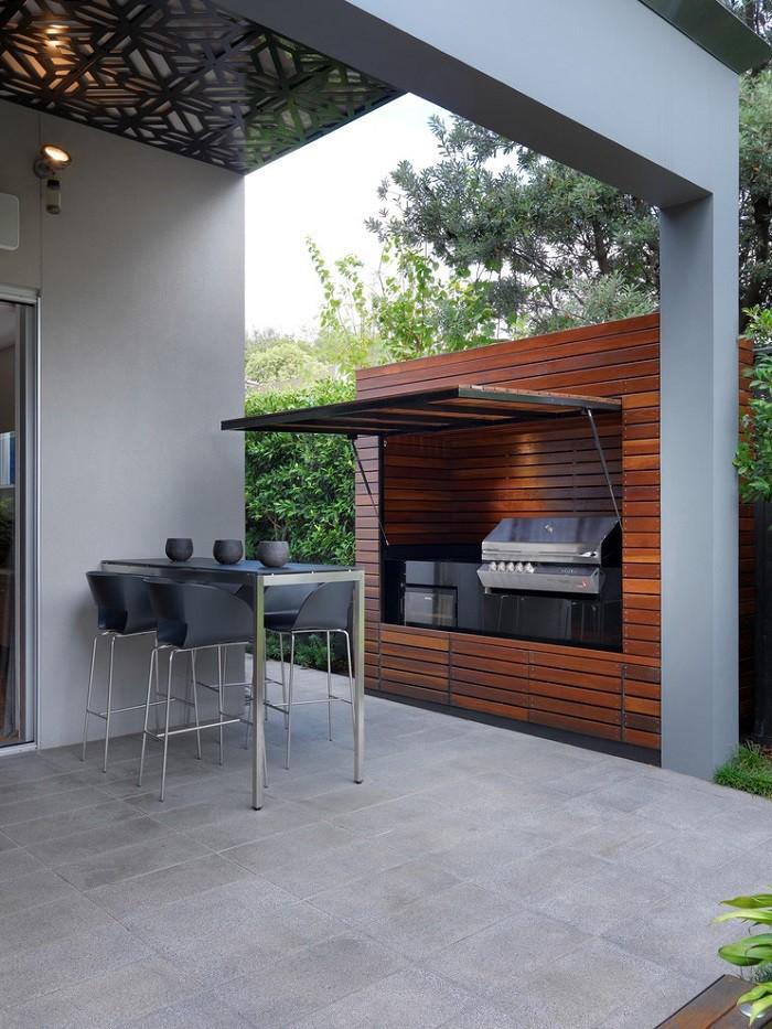 diseo de terrazas y exteriores para casas pequeas with diseos de cocinas para casas pequeas