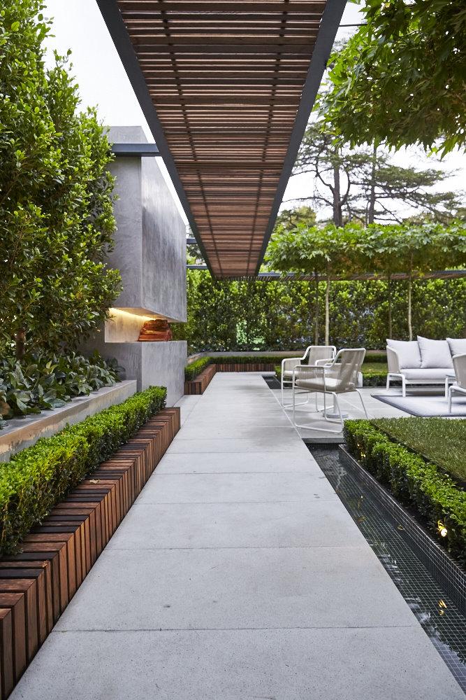 Dise o de terrazas y exteriores para casas peque as - Fuentes para terrazas pequenas ...