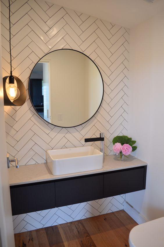 Diseños de espejos para baño