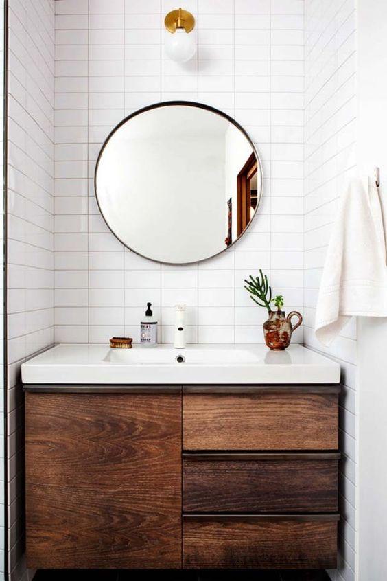 dise os de espejos para ba o On diseños de espejos para baños pequeños