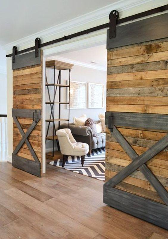 Dise os de puertas corredizas para interiores - Puertas de diseno para interior ...