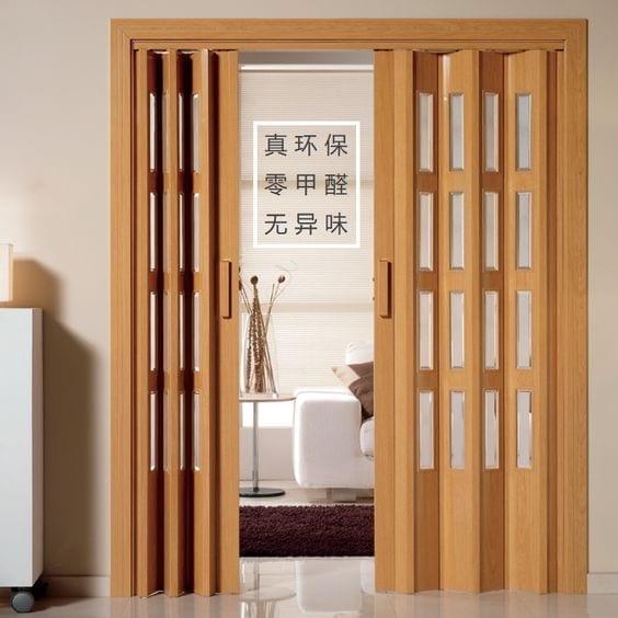 Diseños de puertas plegables