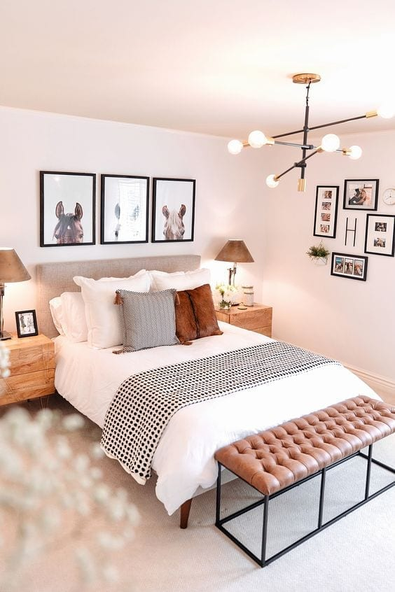 La iluminación en el dormitorio
