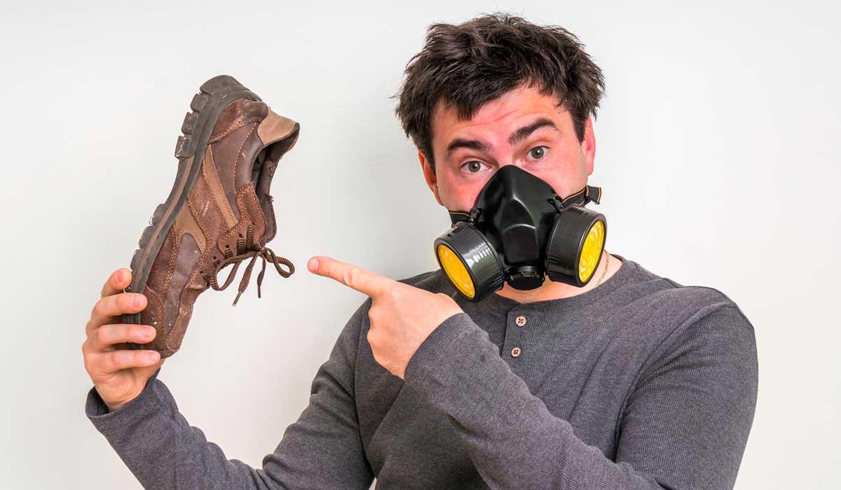 Elimina el olor de tus zapatos