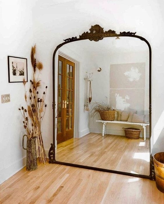 Entradas con espejos grandes