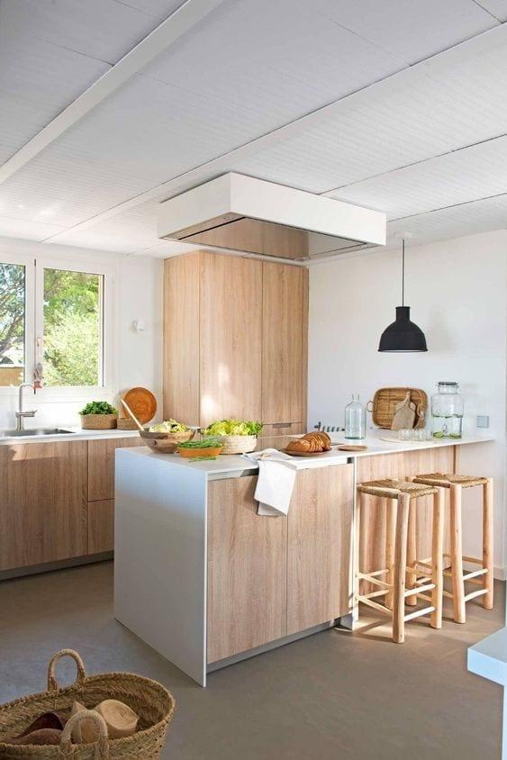 Ideas de decoración de cocinas integrales modernas