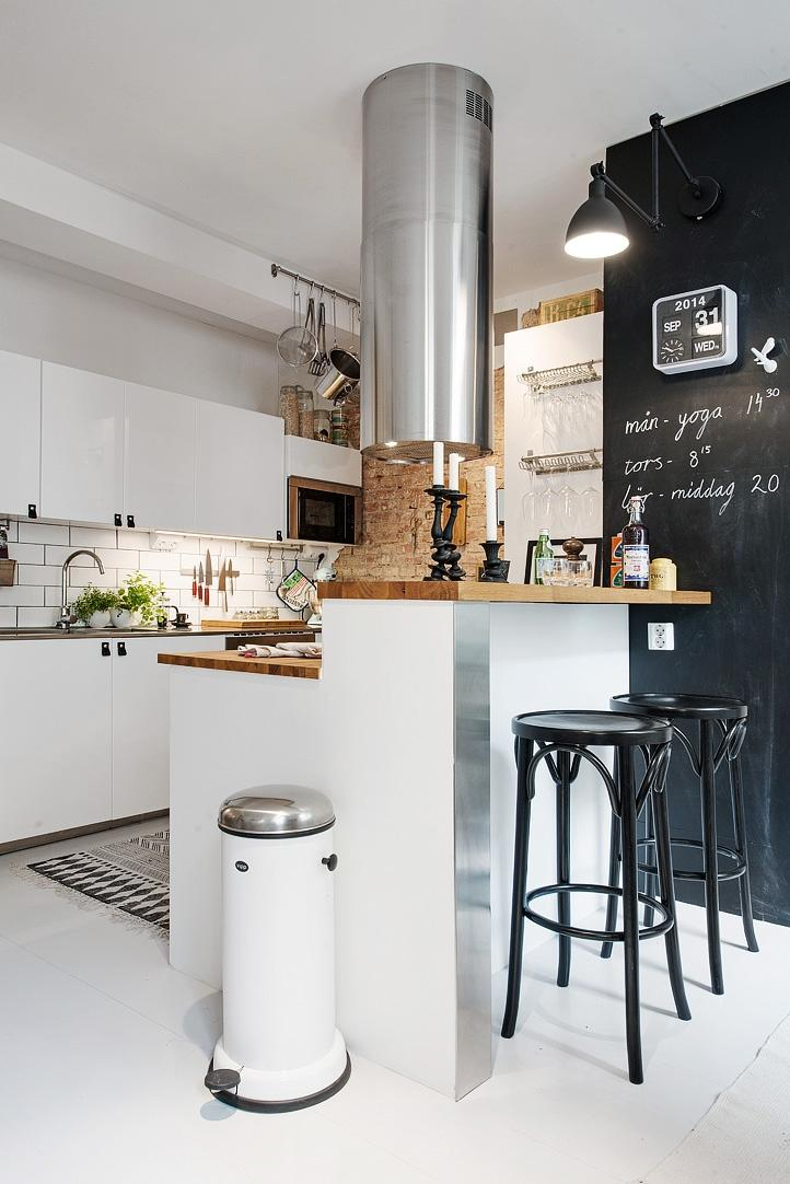 Ideas de decoración para cocinas con poca luz