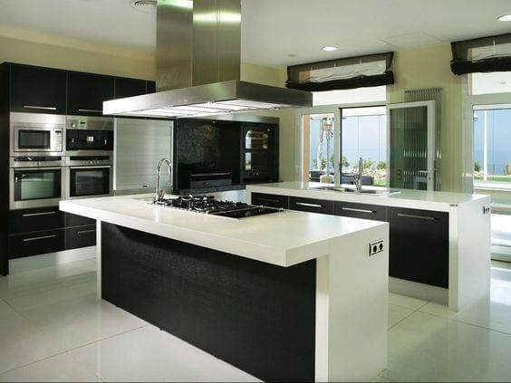Ideas de formas para decoración de cocinas integrales