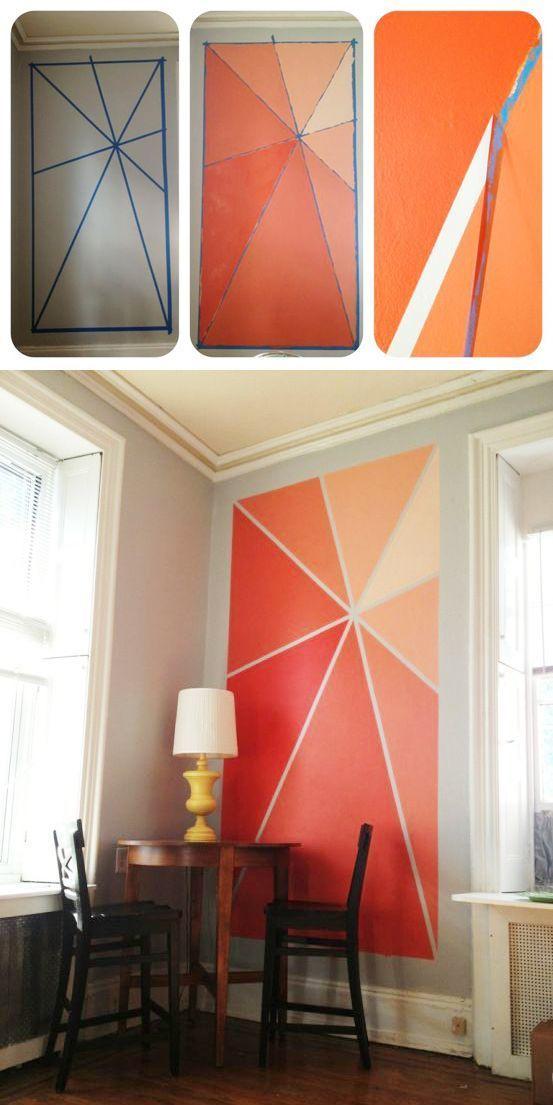 Ideas fabulosas para pintar las paredes de tu casa 12 for Ideas para pintar casa interior