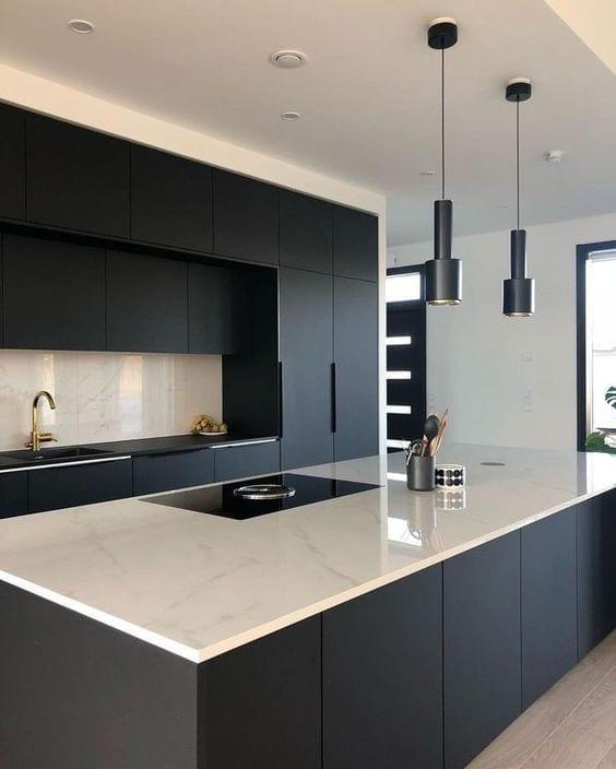 Ideas para decoración de cocinas integrales elegantes