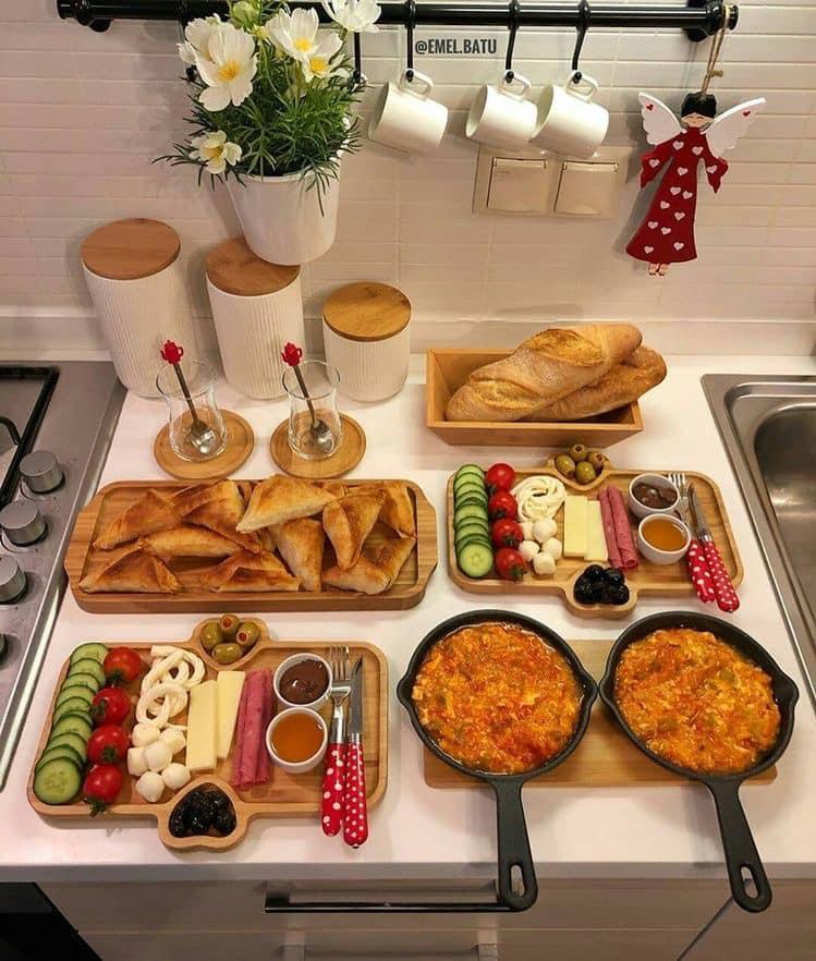 Ideas para desayuno buffet en casa