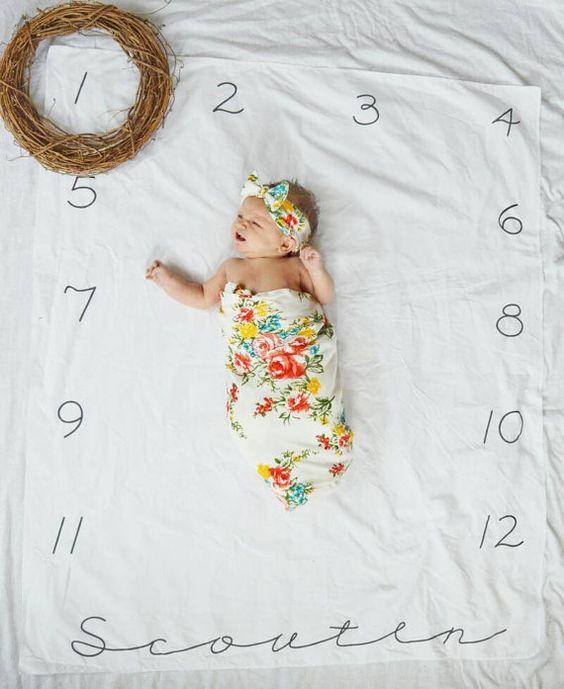 Captura el Crecimiento de Tu bebé con Estas Ideas!! - Curso de ...