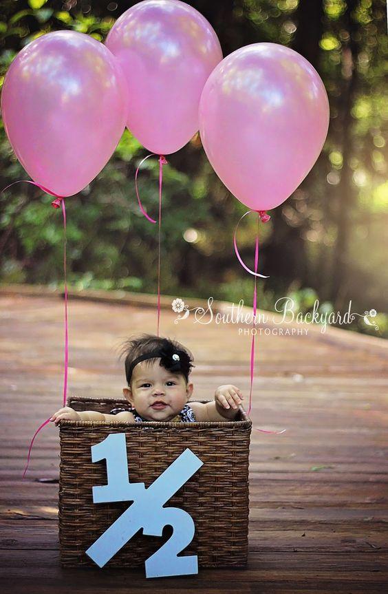 Sesión de fotos para bebes por meses